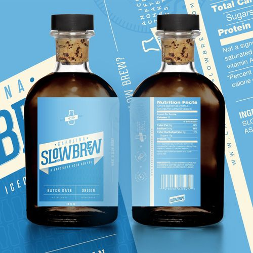 Featured image from the 'Carolina Slowbrew - Packaging Brand and Design System' PAKD Media project.